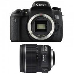 CANON EOS 760D + 15-85 IS GARANTI 3 ans