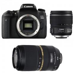 CANON EOS 760D + 15-85 IS + TAMRON 70-300 VC USD GARANTI 3 ans