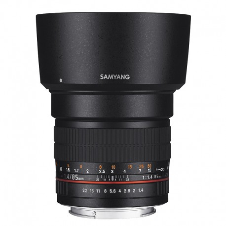 SAMYANG 85mm f/1.4 AS IF SONY A Garanti 2 ANS