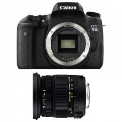 CANON EOS 760D + SIGMA 17-50 F2,8 DC OS EX HSM GARANTI 3 ans
