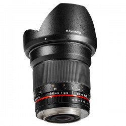 SAMYANG 16 mm f/2 ED AS UMC CS Micro 4/3 GARANTI 2 ANS