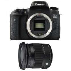 CANON EOS 760D + SIGMA 17-70 F2,8-4 DC Macro OS HSM Contemporary GARANTI 3 ans