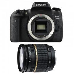 CANON EOS 760D + TAMRON SP AF 17-50 f/2,8 XR Di II LD GARANTI 3 ans