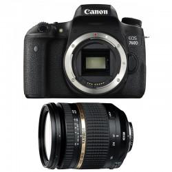 CANON EOS 760D + TAMRON SP AF 17-50 f/2,8 XR Di II VC LD GARANTI 3 ans
