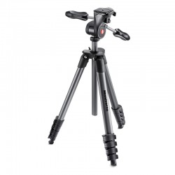 MANFROTTO Trépied COMPACT ADVANCED NOIR MKCOMPACTADV-BK