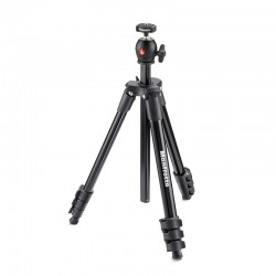 MANFROTTO Trépied COMPACT LIGHT NOIR MKCOMPACTLT-BK