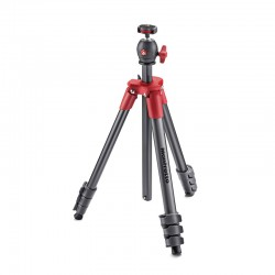 MANFROTTO Trépied COMPACT LIGHT ROUGE MKCOMPACTLT-RD